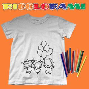 T-shirt Ricolorami