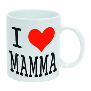 Tazza Mug bianca I Love Mamma