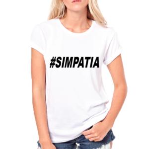 T-Shirt #SIMPATIA