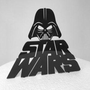 Topper per torta S. Wars.