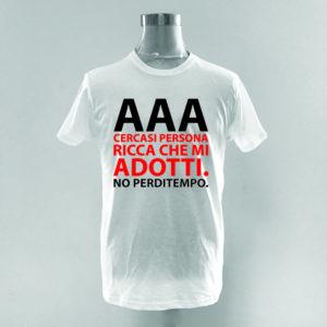 T-Shirt AAA cercasi